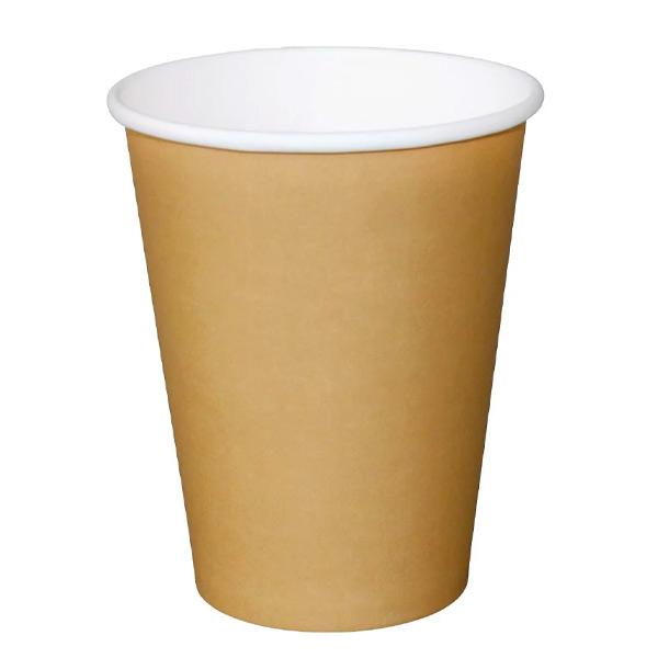 12oz Coffee Cup Single Wall Kraft (x1000)