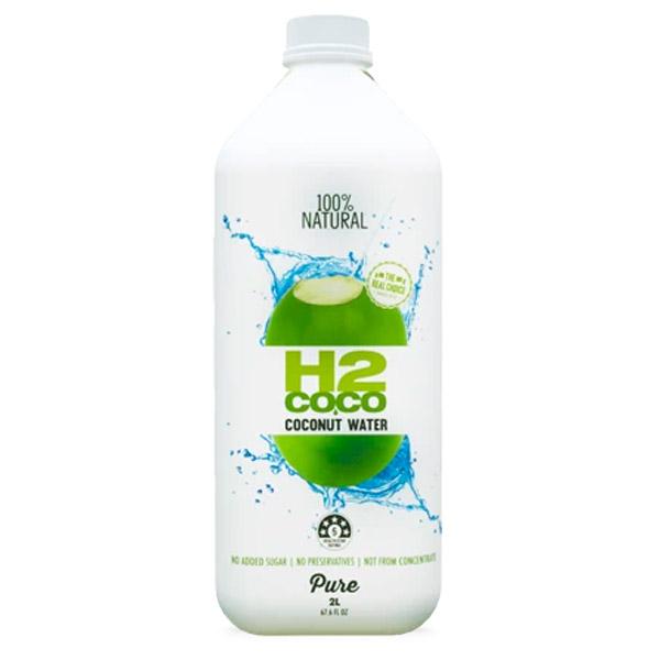 H2coco Pure Coconut Water (6 x 2L)