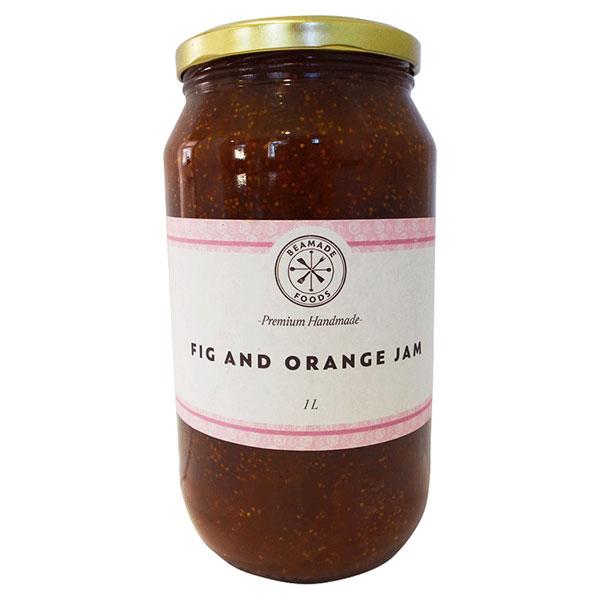 Fig and Orange Jam - (2 x 1L)