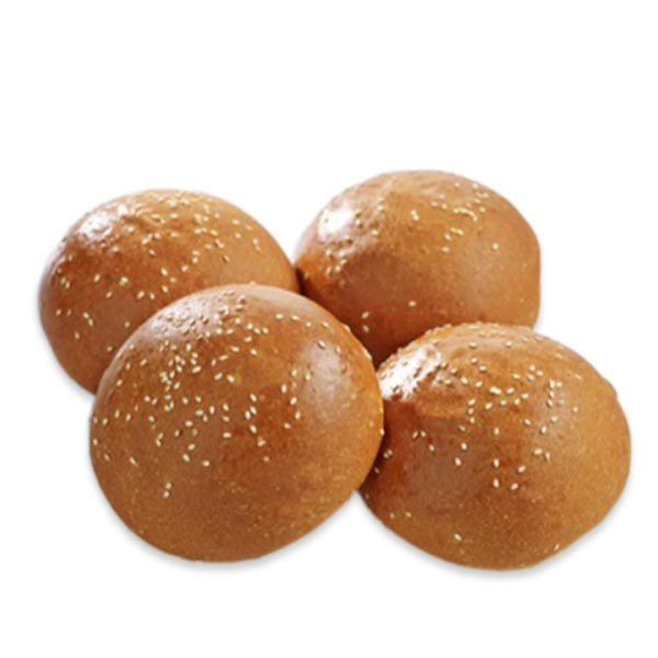 Yeasted Bread - Milk Large Burger Bun