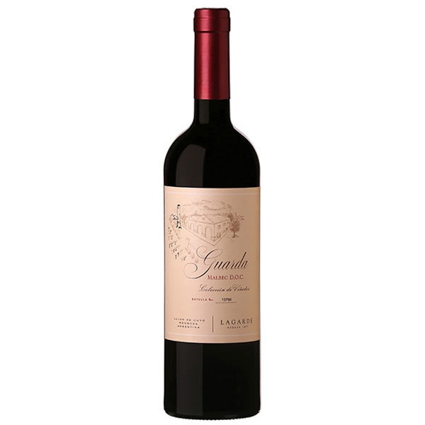 Lagarde Guarda Malbec DOC 2015 750ml / Mendoza Argentina