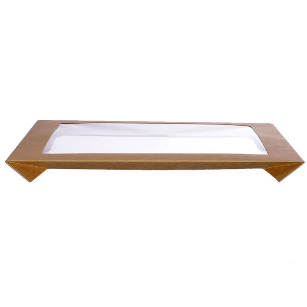 Catering Tray Lid Ect 2L Clear (363 x 255 x 30Mm) 100Ctn / Pinnacle