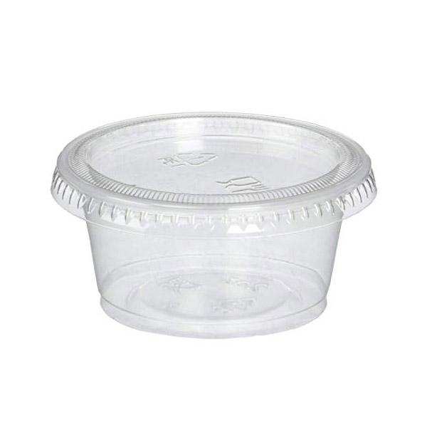 Sauce Container/ Pk4 4Oz Base+Lids (100 units)