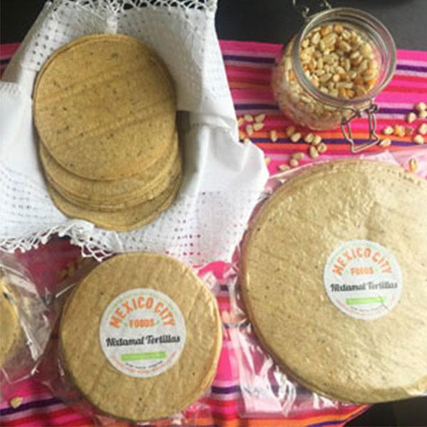 Mexcio City Foods Nixtamal Soft Tortillas 6 inch (12 x 36)