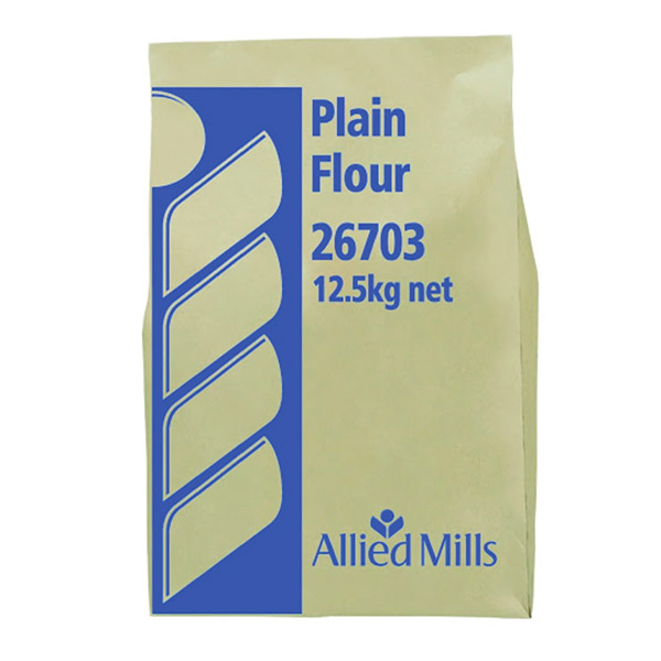 Flour - Plain Flour 12.5Kg Allied Mills