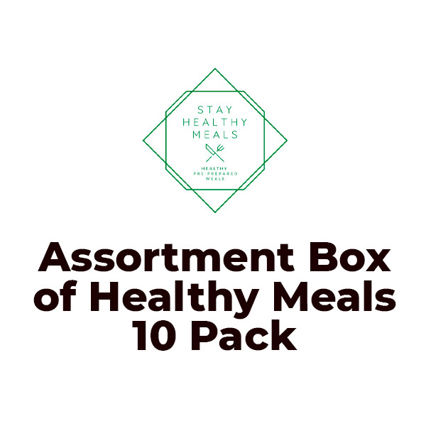 Meal Assortment Box of Healthy Meals 10 Pack 3kg