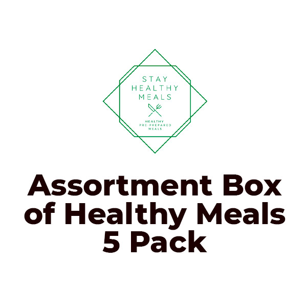 Meal Assortment Box of Healthy Meals 5 Pack 1.5kg