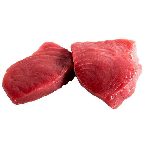 Tuna Loin Yellow Fin Sashimi Grade Skin/Off (Specify Fillet Size)